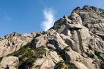 安徽黄山初冬景色美 奇松怪石吸引游客参观
