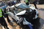 安徽宿州:七旬老人因操作不慎翻车 被压车下