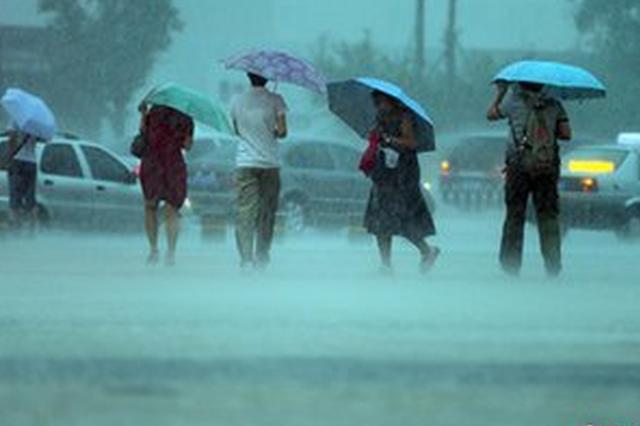 合肥昨日出现短时强降雨 3小时最大降雨量达84.9毫米