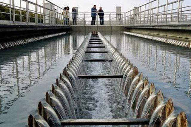 今年阜阳市城区污水集中处理率将达93%