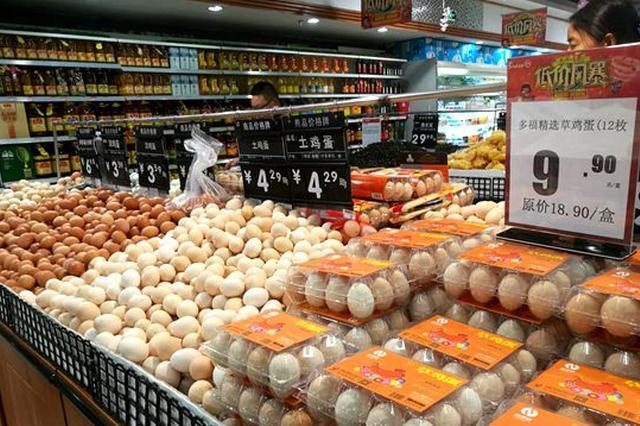 安徽省鸡蛋价格持续7周下跌