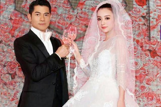 郭富城结婚一周年罕见婚照曝光 方媛精致如娃娃