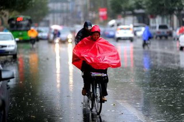 安徽沿江江南出现暴雨到大暴雨 今起多云气温回升