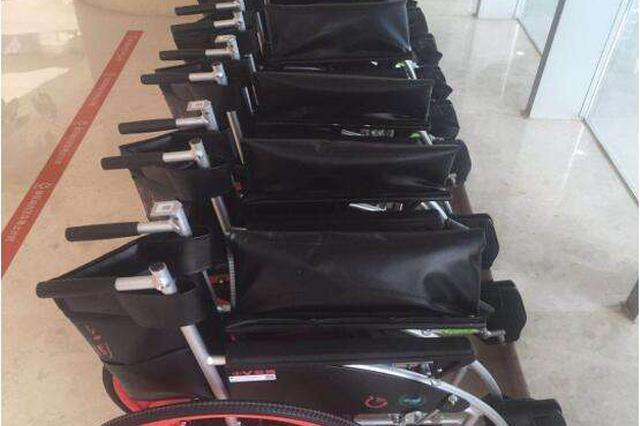 共享轮椅现身合肥 前2小时免费 之后2元/小时