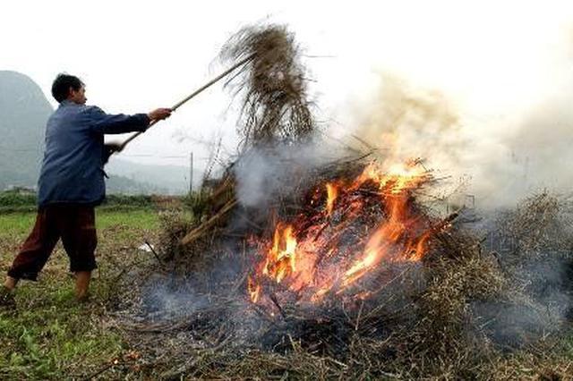 芜湖无人机巡查秸秆焚烧