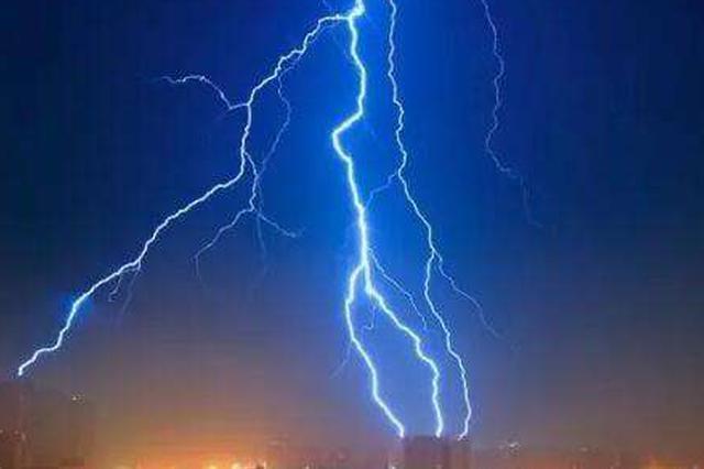 安徽多地遭遇强对流天气