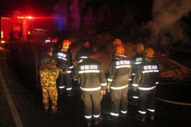 网吧发电酿火灾 民警消防齐救援