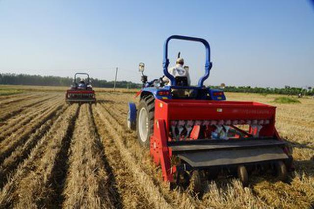 安徽省出台未来三年农机购置补贴意见