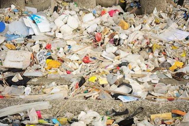 建筑垃圾运输车偷倒生活垃圾 城管重罚一万元