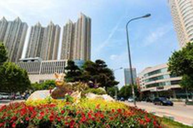 合肥政务区添15处城市景观花境 总面积约2000平米