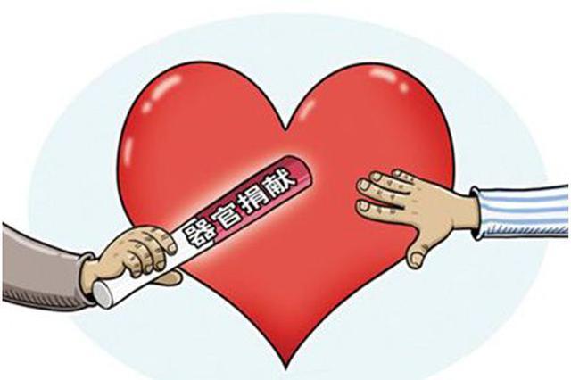 受捐献延续生命  捐器官爱心接力