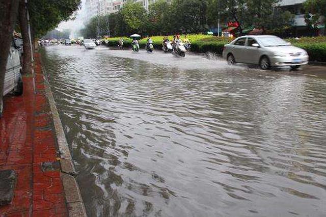 安徽今起迎新一轮强降水 合肥暴雨伴有七级阵风