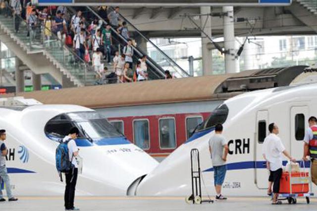 合肥到北京芜湖阜阳淮北等方向加开列车