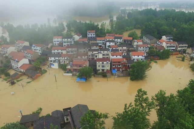 安徽多地因强降雨发生洪涝灾害