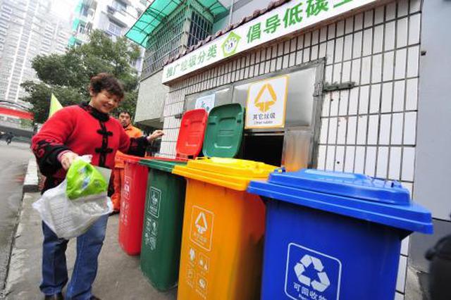 合肥庐阳区全面启动 生活垃圾分类推广