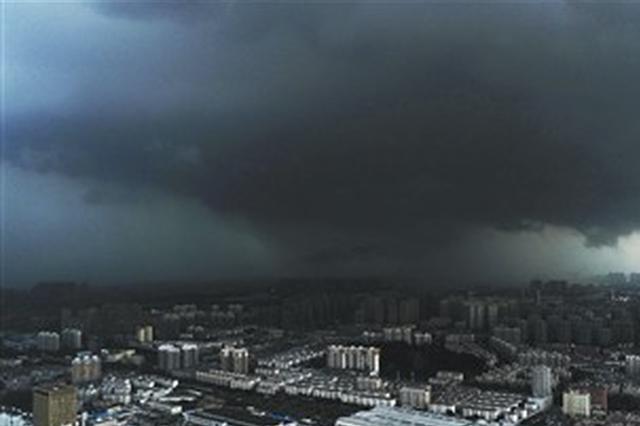 """明天""""玛莉亚""""将掠过安徽 合肥昨天大雨和台风没关系"""