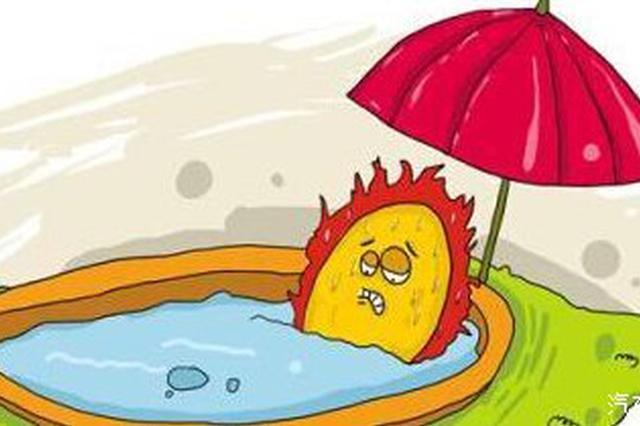 今起皖将出现持续高温天气
