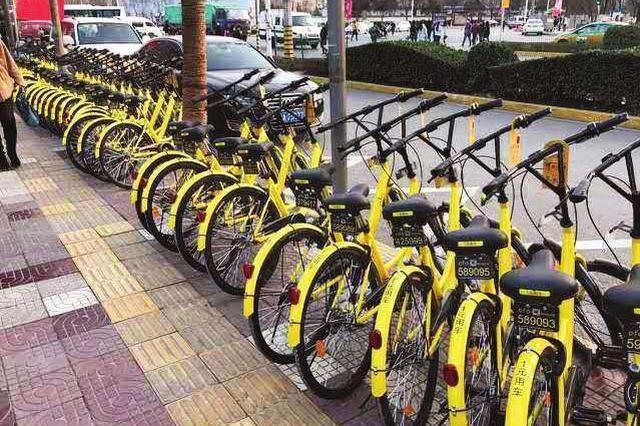 """滨湖新区首份共享单车考核""""成绩单""""亮相"""