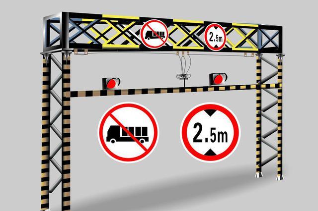 安徽:私自抬起限高杆  违法放行还收钱