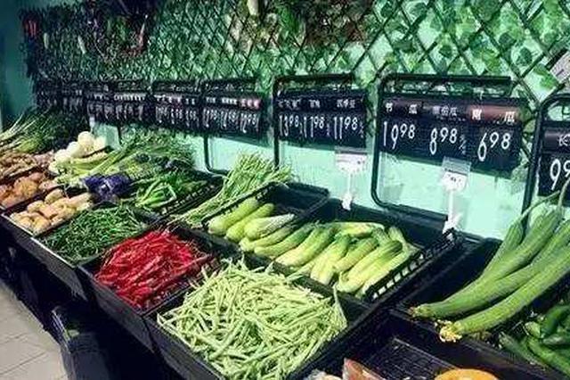 高温来袭 合肥周谷堆部分菜价上涨