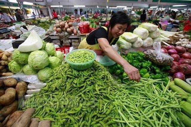 暴雨高温交替 蔬菜价格看涨