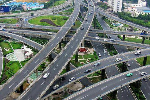 合肥:上跨合九线立交等项目年底前通车