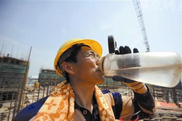 省气象台发布高温预警 21日前安徽最高气温或超39℃