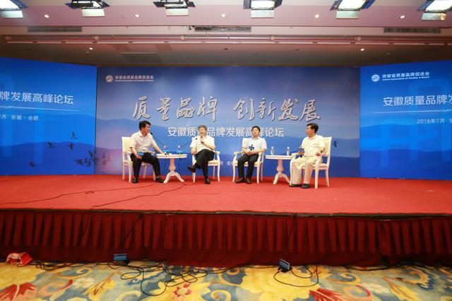 安徽质量品牌发展高峰论坛举办 大咖畅谈品牌建设之路