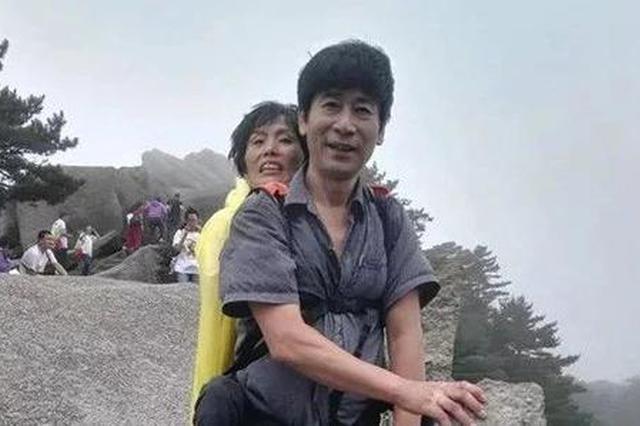 安徽一男子陪渐冻人妻子走过半个中国