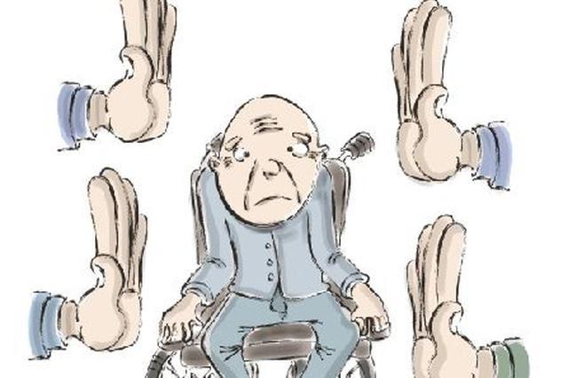 """瘫痪11年患者脚掌变""""座垫"""" 终圆""""轮椅梦"""""""