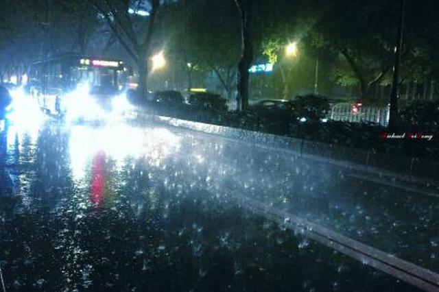 """""""温比亚""""来袭 七夕风雨相伴 安庆局地有大到暴雨"""