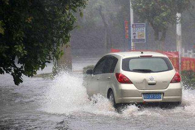 """新台风""""温比亚""""杀到安徽 七夕佳节风雨中度过"""
