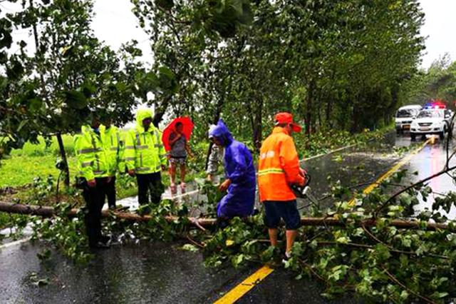 合肥启动国省道抗台风保畅通行动