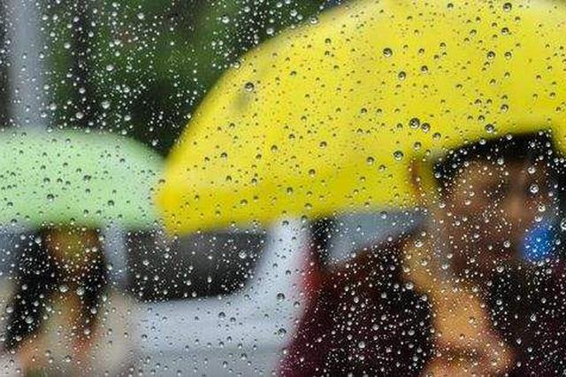 安徽省长江以北地区出现强降雨