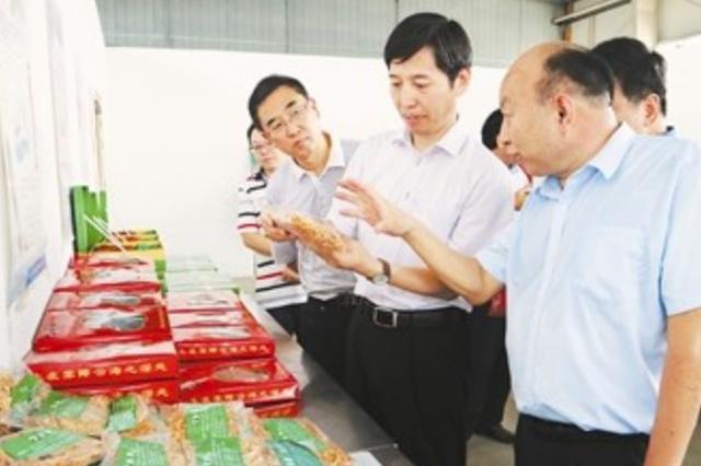 市政府副市长彭庆恩调研肥西县残疾人工作