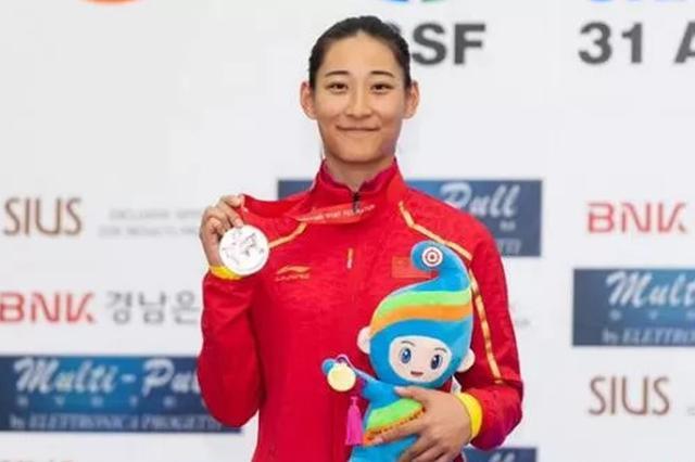 安徽省运动员王晓菁获东京奥运会席位