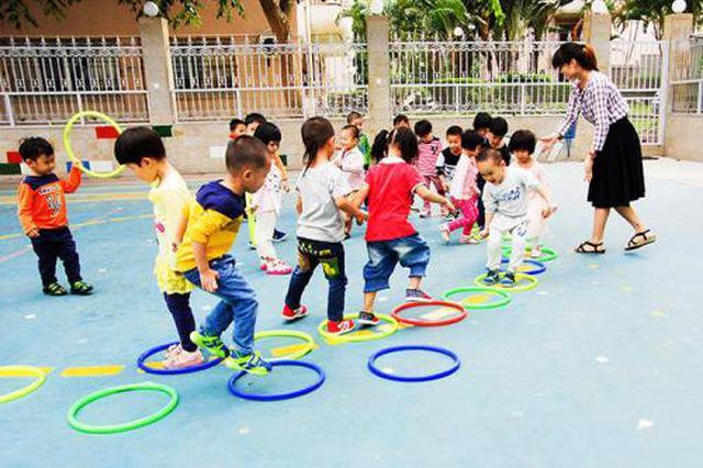 合肥今年规划建设61所公办幼儿园