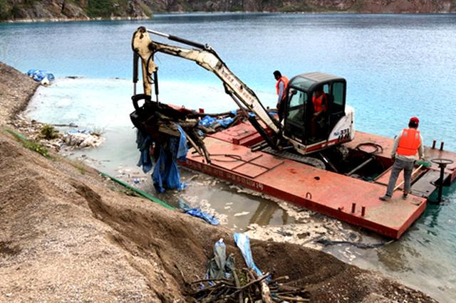 芜湖白马街道开展沟渠河塘整治行动 保护水域环境