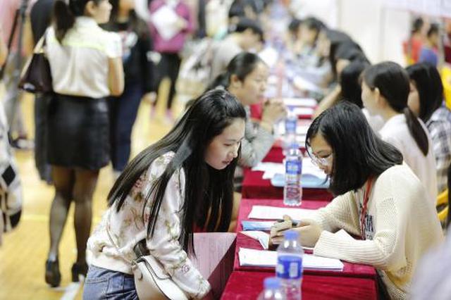 今年安徽城镇新增就业将达70万人