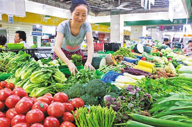 鸡蛋蔬菜价格总体上涨