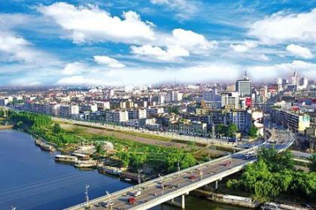 航拍:安徽阜阳农村样貌 一眼望去全是绿色