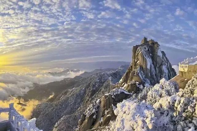 安徽的冬天竟美成这样