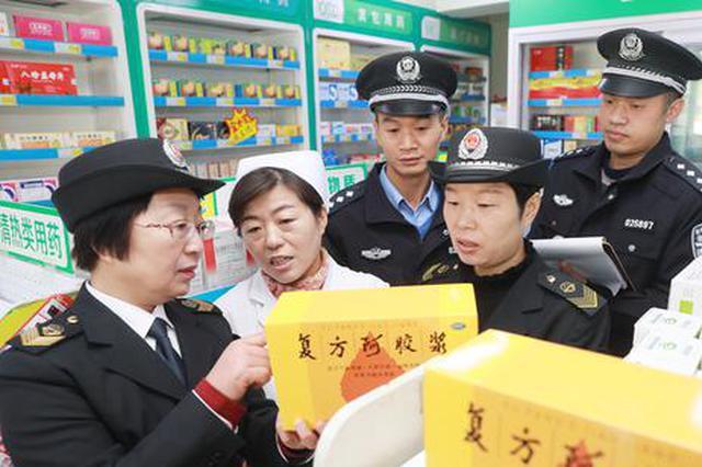 安徽淮北:重拳打击食品 药品违法犯罪在行动