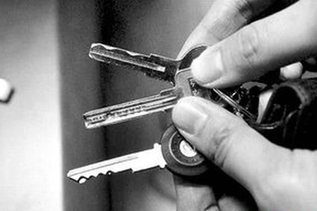 男子伙同狱友技术开锁盗窃 在宿松共作案10起
