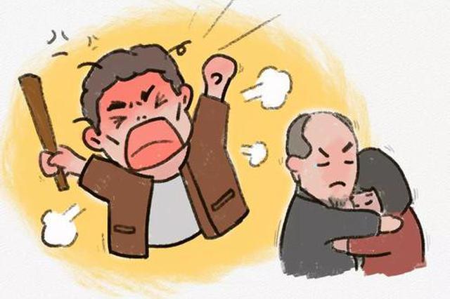 为了5块钱 安徽一男子殴打七旬老父亲 被拘13天