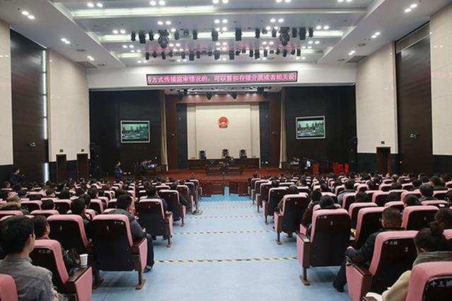 """安徽组织开展""""宪法宣传周""""旁听庭审活动"""
