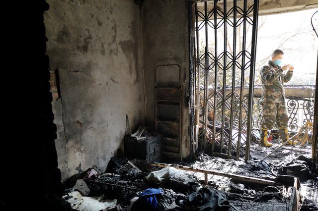 合肥市安居苑小区一住家发生火灾 66岁老人不幸遇难