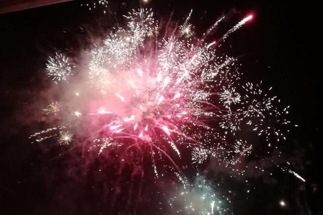 视觉盛宴:新年焰火