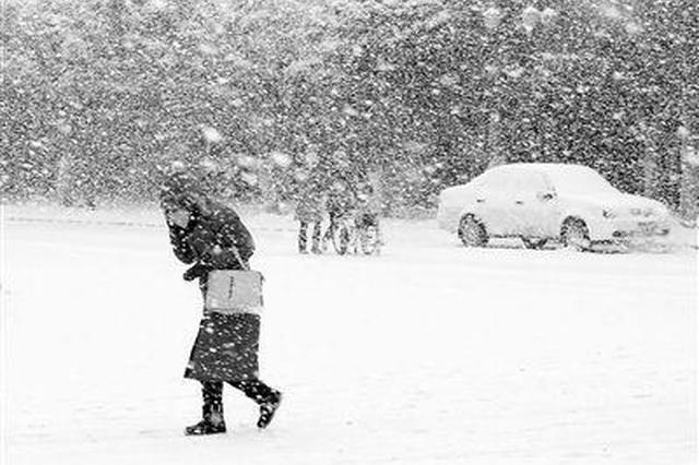 安徽再迎暴雪天气 22日前难见阳光