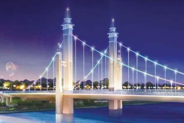 颍柳路泉河桥计划清明节前完工